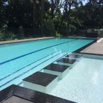 Featured Pool with splash pool